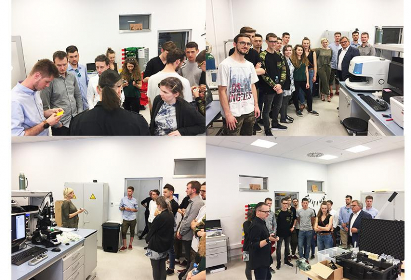 Student visit to Merit Cracow R & D centre