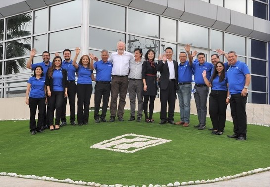 The opening of Merit's plant in Matamoros Mexico